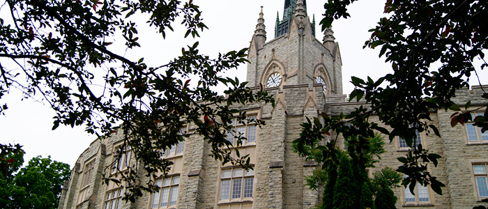 Western University, Graduate Studies - Back of Middlesex College (Douglas Keddy)